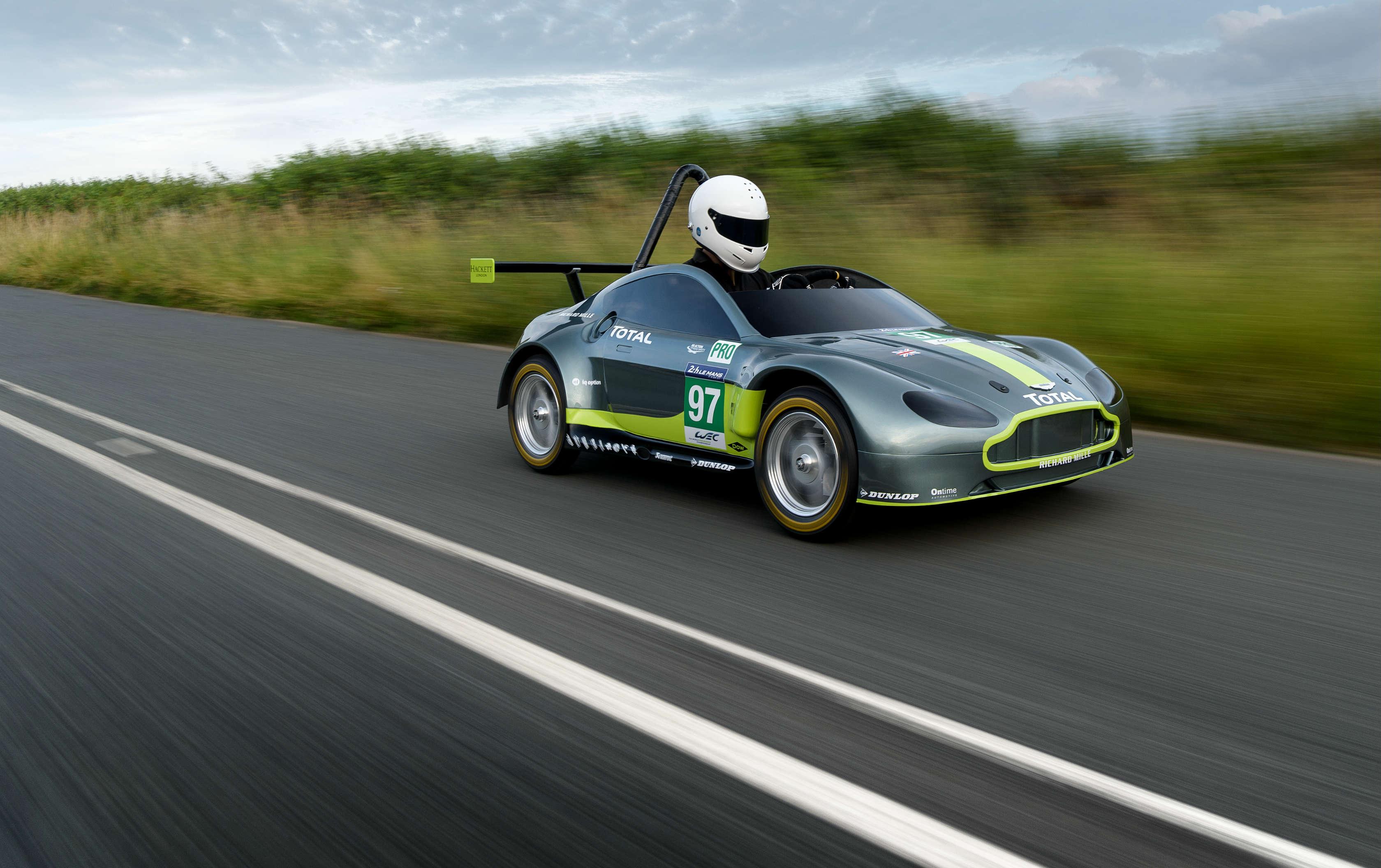 Aston Martin Racing Reveals Soapbox Racecar Torque