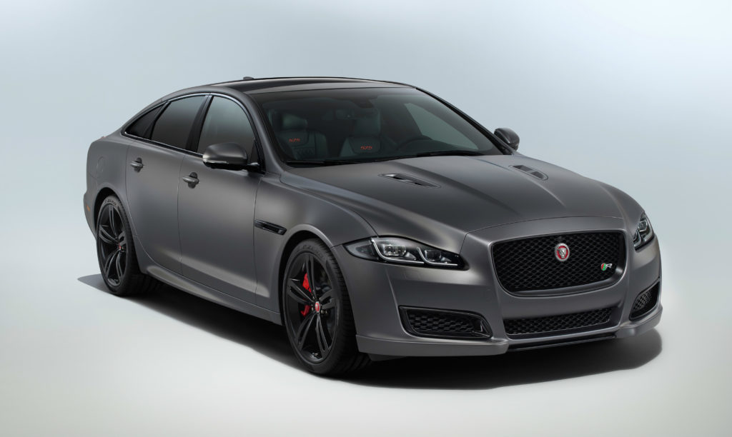 XJR575 is the 575bhp performance flagship of Jaguar's 2018 ...