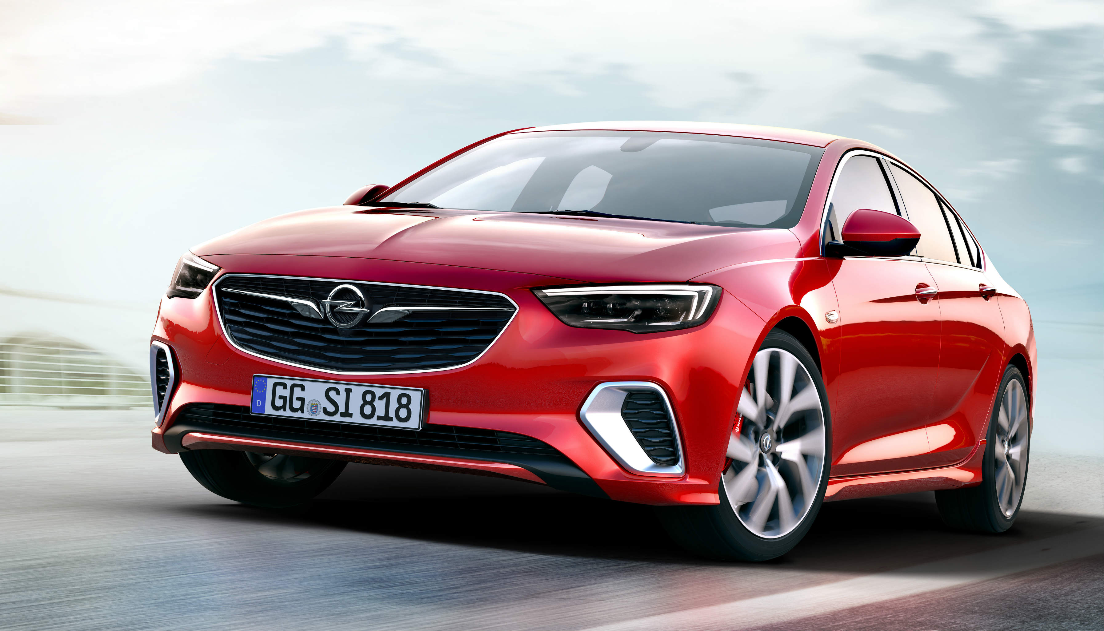 Opel S New Insignia Gsi Is Quicker Than Old Insignia Opc On The