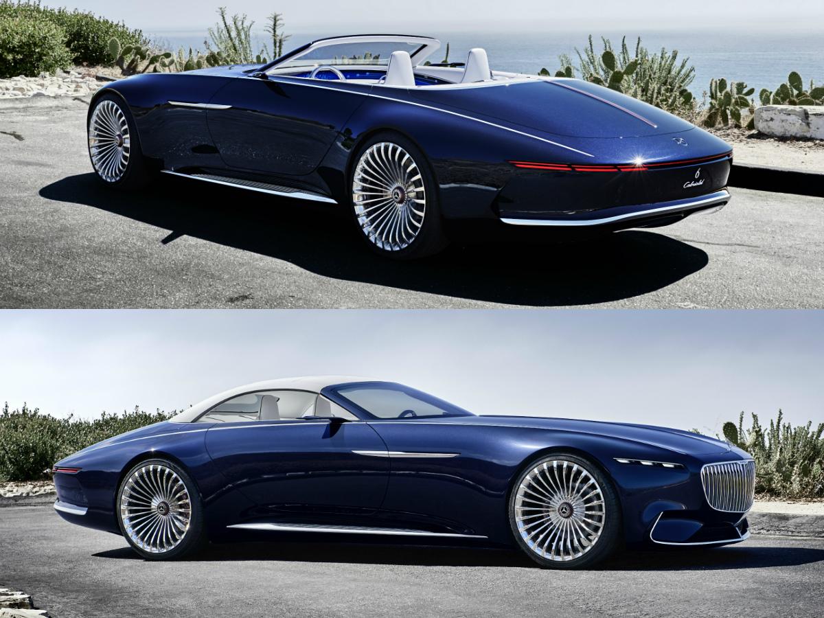 vision mercedes maybach 6 cabriolet torque. Black Bedroom Furniture Sets. Home Design Ideas