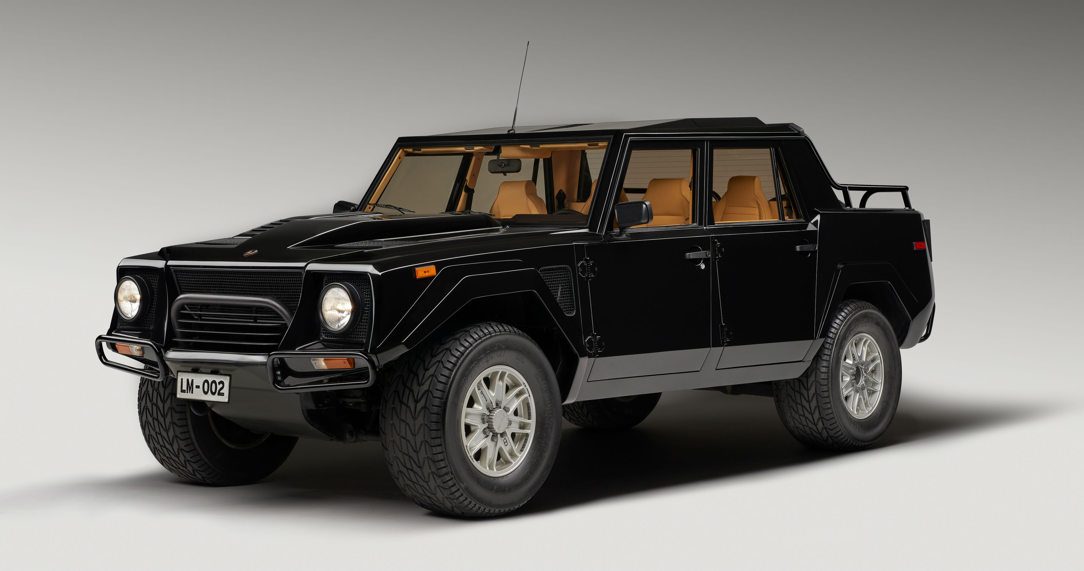 Lamborghini Looks Back On Its First Suv The Lm002 Torque