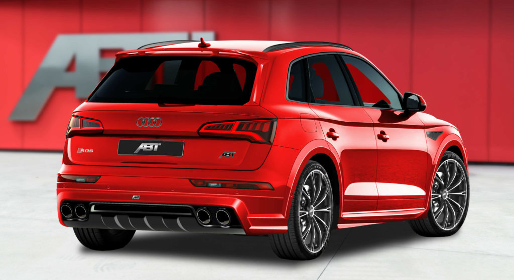 Abt Aerokit For New Audi Sq5 Torque