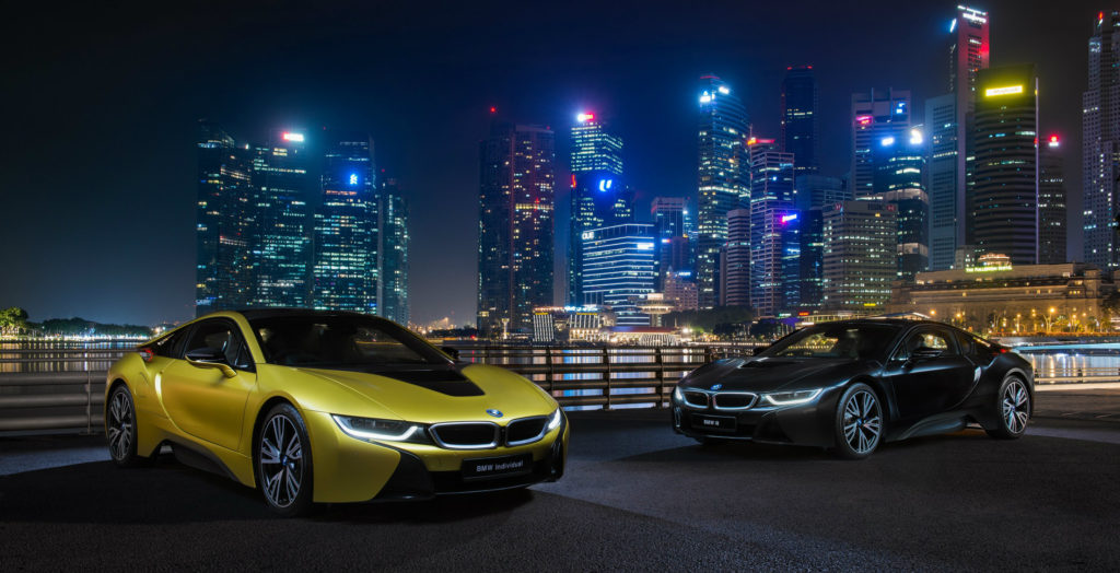 Bmw I8 Protonic Frozen Yellow Edition Now Available In Singapore
