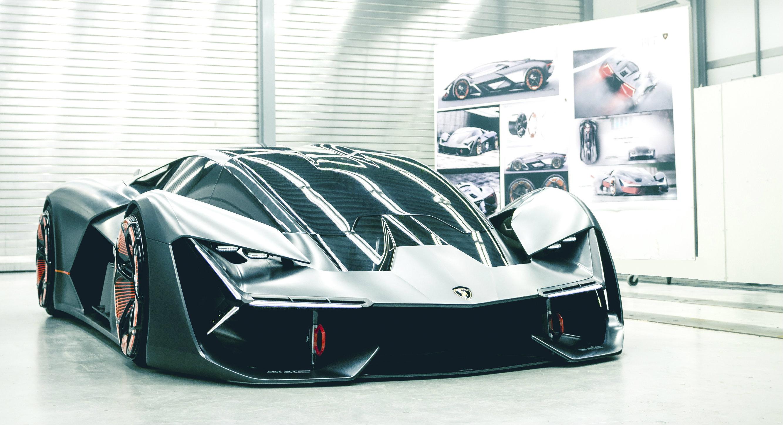 Lamborghini Terzo Millennio Is A Future Electric Hypercar Torque