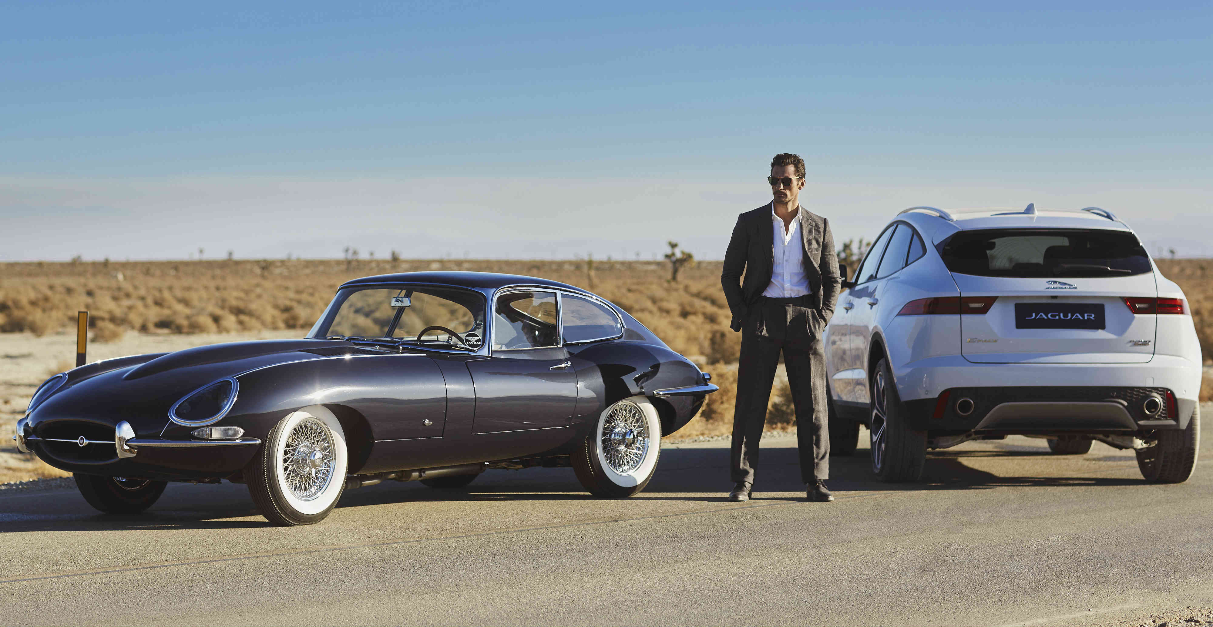 Best Awd Sports Cars >> Jaguar desert photoshoot with E-Pace, E-Type and David ...