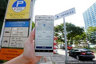 parking.sg app