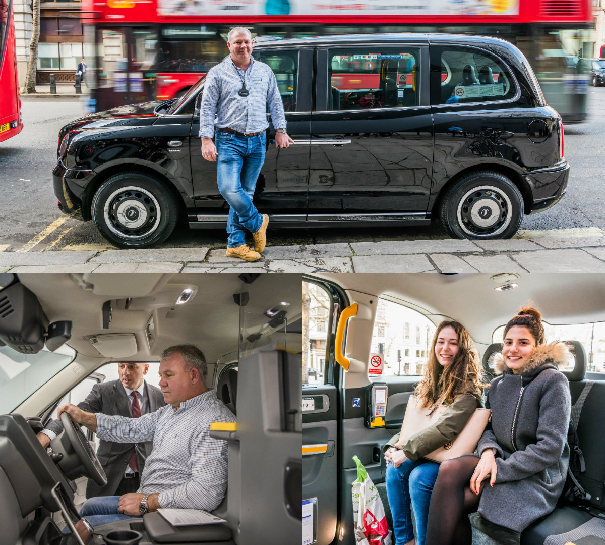 First Tx Electric Taxi Picks Up Its First Fare In London