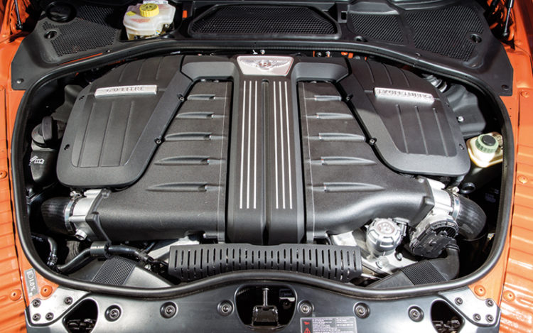bentley continental gt speed engine