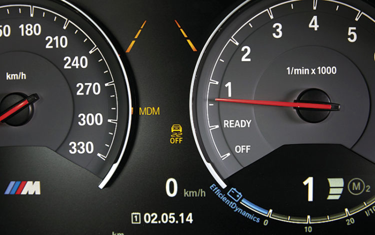 bmw mdm indicator