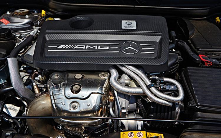 mercedes-cla45-engine