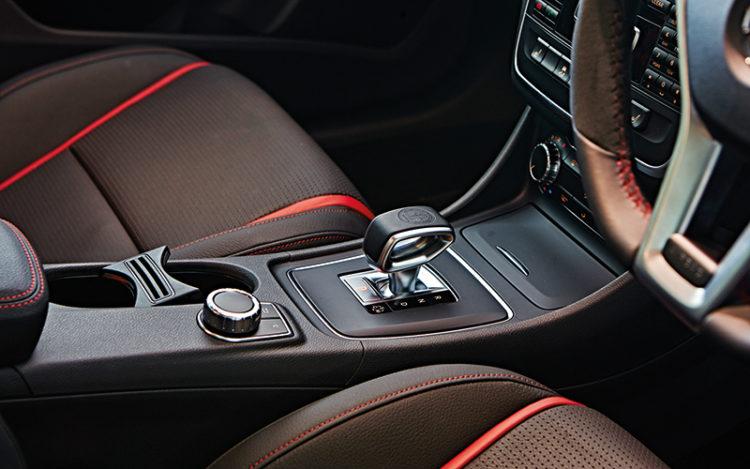 mercedes-cla45-gearshift
