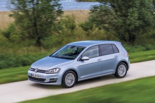 Volkswagen Golf TDI BlueMotion moving
