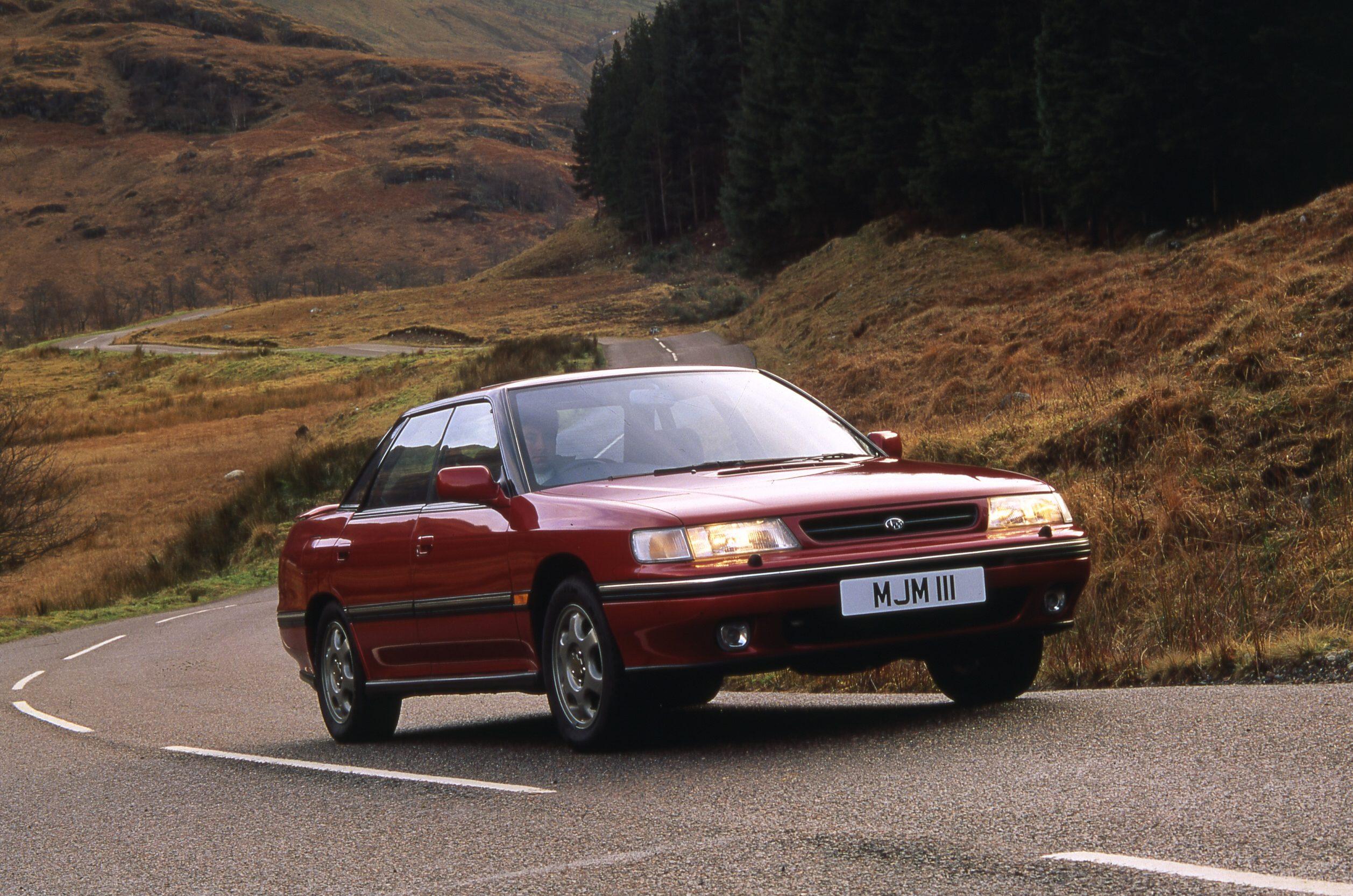 1993 Subaru Legacy Rs Turbo Review Torque