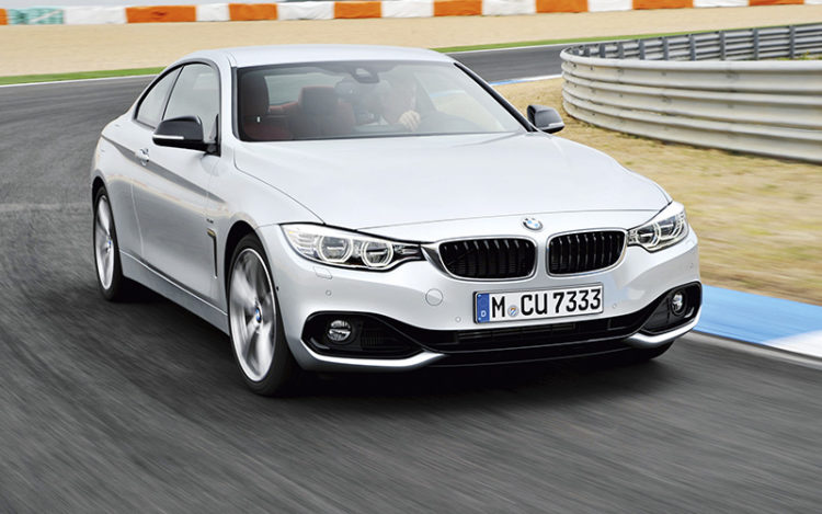 bmw 435i coupe front tracking