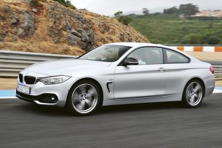 bmw 4 series coupe panning