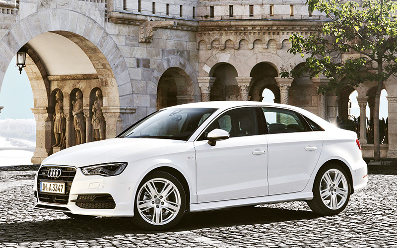 audi a3 sedan is a neatly packaged compact german saloon