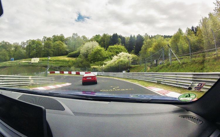 nurburgring in-car shot 1