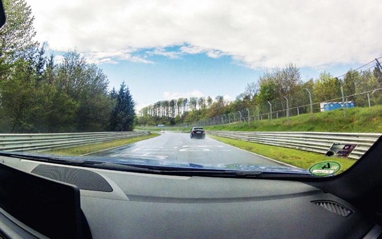 nurburgring in-car shot 2