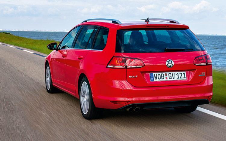 volkswagen golf variant rear tracking