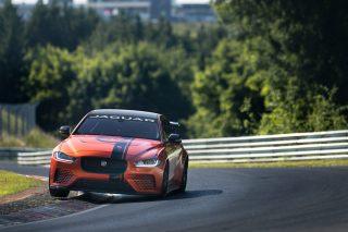 Jaguar fine-tunes XE SV Project 8