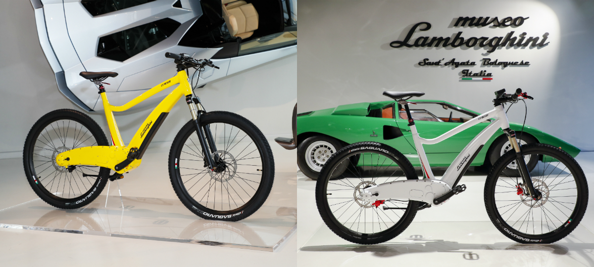 Lamborghini Lends Its Name To A Range Of E Bikes Torque