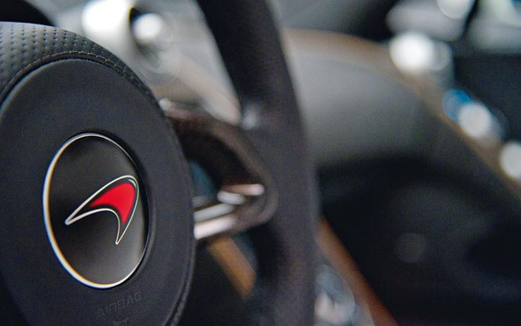 mclaren-logo-steering-wheel