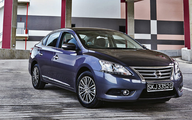 nissan-sylphy-static-front