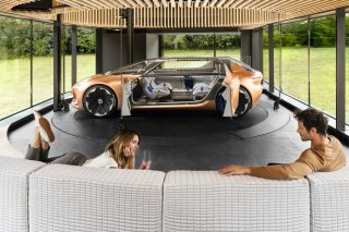 Motoring utopia is when house and car become one.