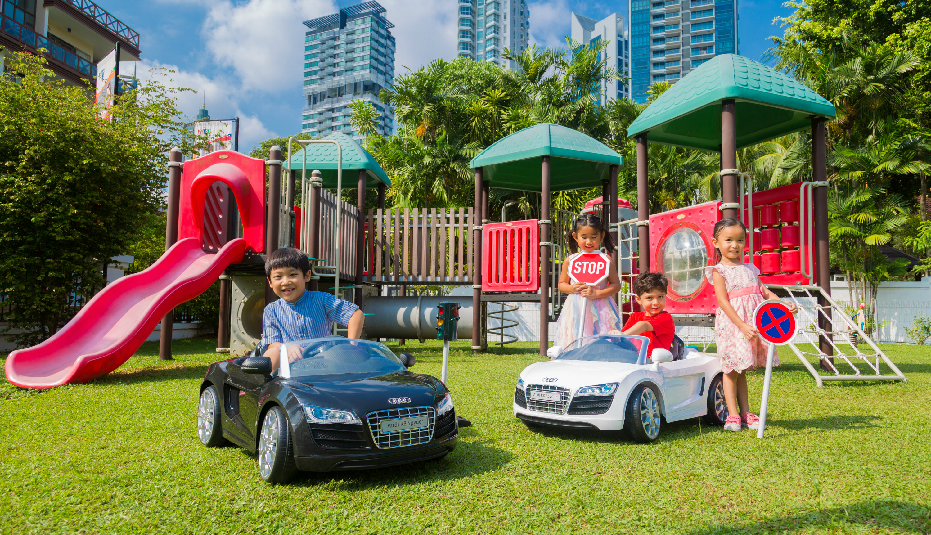 When it comes to cars, the more the merrier for this female petrolhead, but when it comes to kids, she is happy to have just one.