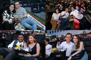200 members of myAudiworld, the automaker's customer privilege programme, enjoyed Shakespeare's Julius Caesar presented by the Singapore Repertory Theatre at Fort Canning Park over the May 12-13 weekend.