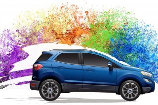 When creating a new car colour, Ford's designers have to look at a diverse range of societies and predict how changing moods will affect colour preferences. The designers then combine that with knowledge of how trends in design disciplines are changing to create colours that look on-trend.