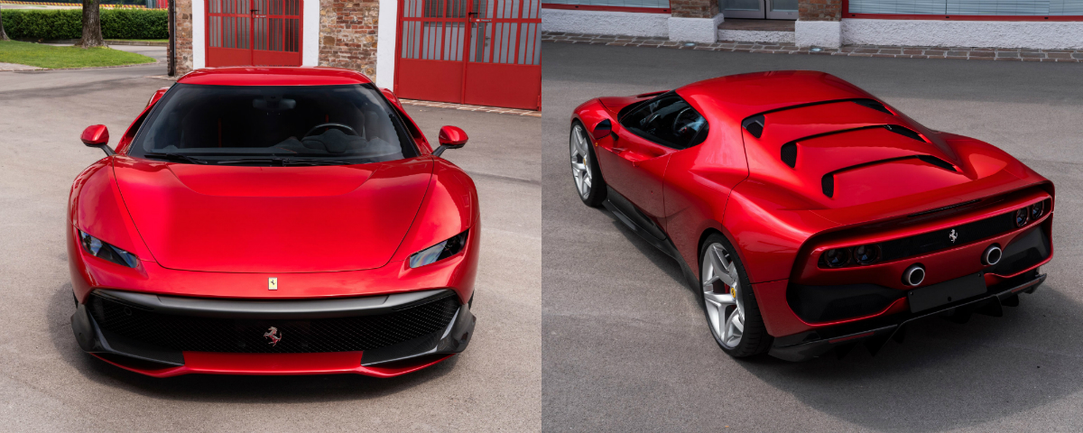 The latest special from Ferrari's One-Off programme was unveiled at Fiorano and handed over to one of the marque's most dedicated customers.