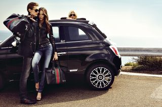 Fiat 500 by Gucci 1