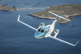 The new Elite version of the HondaJet features increased range, updated avionics and enhanced cabin amenities.