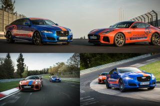 Professional drivers take customers on a fast passenger lap around the world's most famous race circuit in the high-performance 575hp V8 Jaguars.