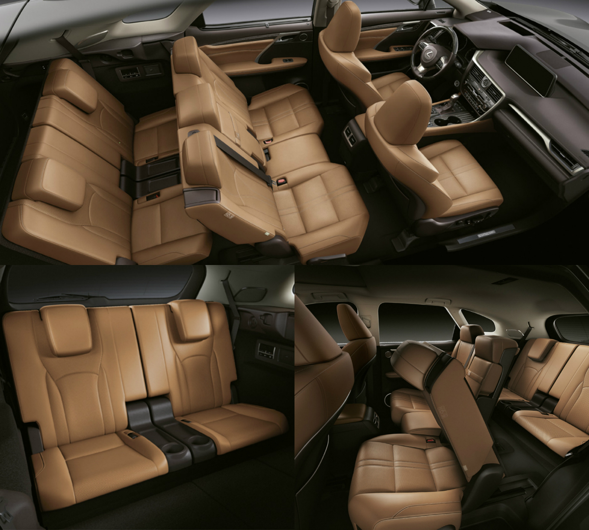 The new L version of the RX is a versatile seven-seater SUV with an interior that offers Lexus luxury, Japanese hospitality and great comfort for everybody on board.