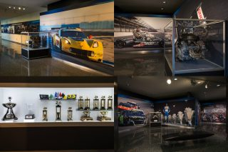 General Motors' new motorsports-themed experience is in the company's Renaissance Centre headquarters in Detroit, USA.