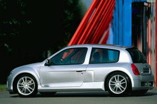 With its deformed bodywork and deranged performance, the 2002 Renault Sport Clio V6 was a memorable monster of a hot hatch.