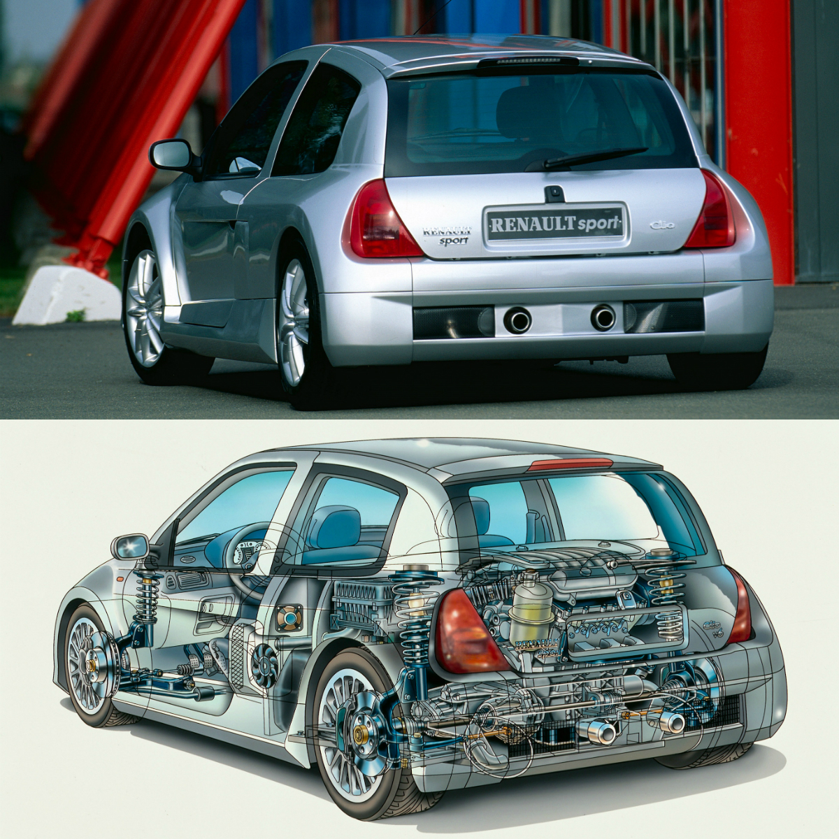 Clio Sport: Renault Sport Clio V6 Was The Hatchback Of Notre-Dame