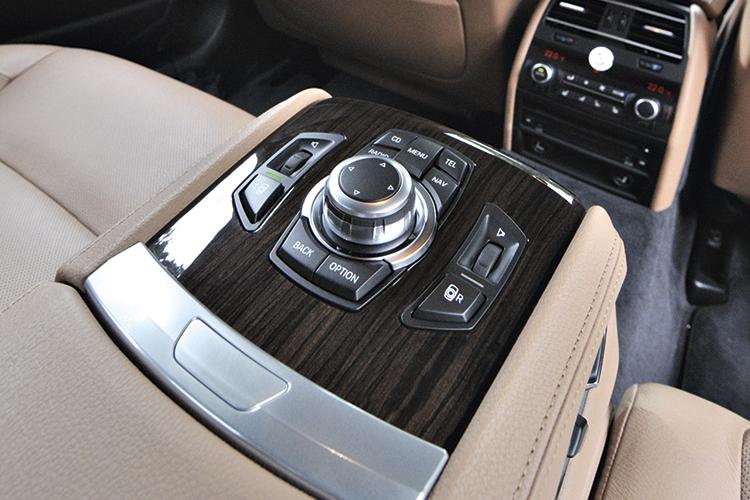 bmw 730ld idrive controls
