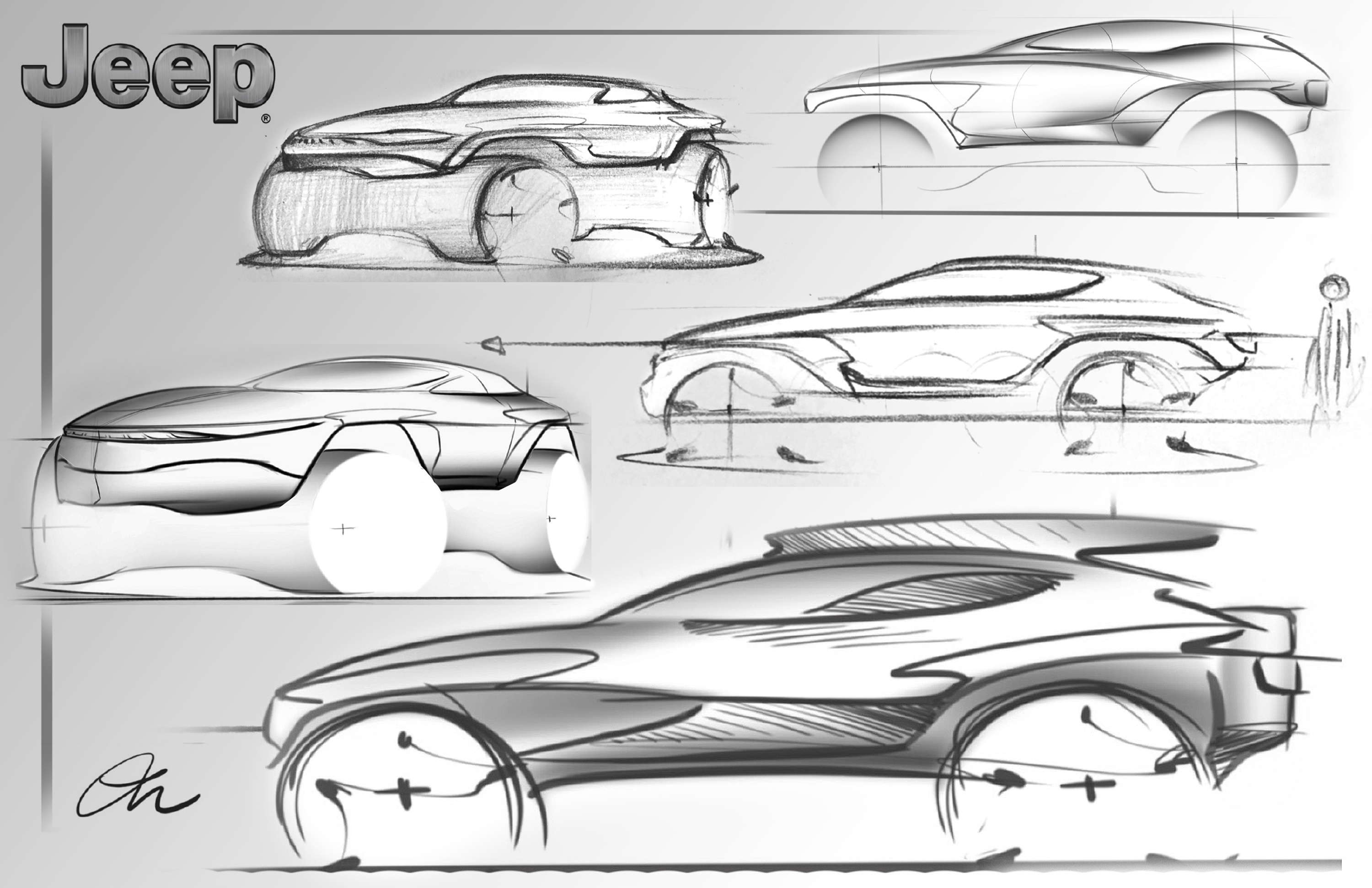 The three students are winners of the 2018 Drive For Design contest sponsored by FCA US Product Design Office and their prizes include an exclusive behind-the-scenes tour of the FCA USA design studios and the opportunity to work one-on-one with professional automotive designers in Fiat Chrysler Automobiles.