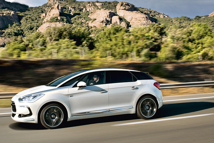 The Citroen DS5 is a mass market model able to achieve its upmarket aspirations.