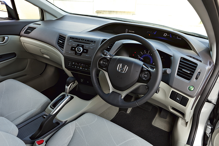 honda civic cockpit