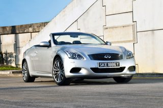 infiniti g37 convertible static front