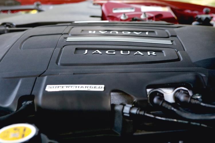 jaguar xkr-s engine