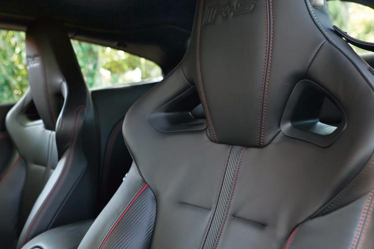 jaguar xkr-s front seats