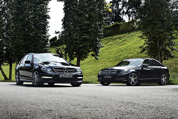 Mercedes-Benz C63 and C180 are like chalk and cheese | Torque