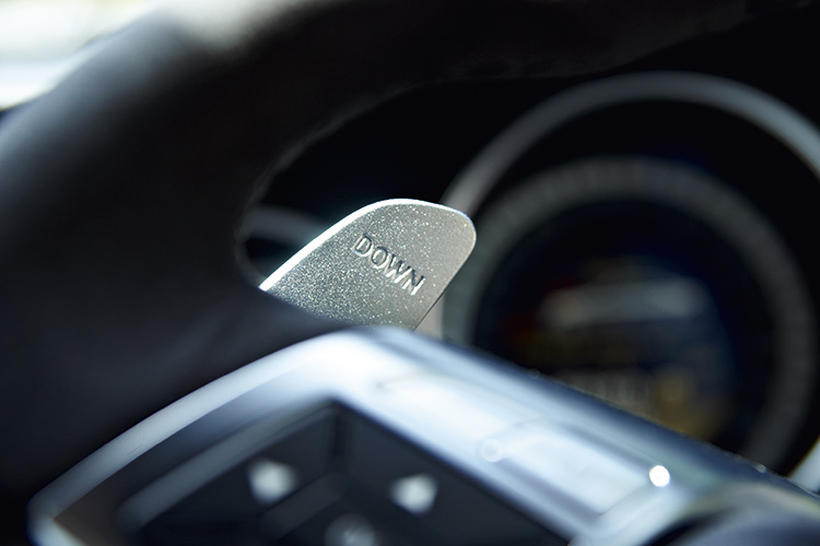mercedes-benz c63 amg paddle shifter