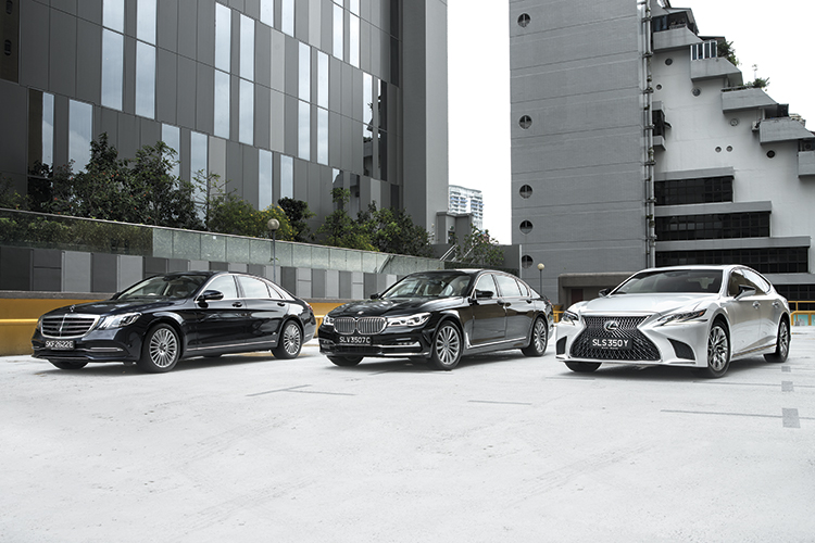 Which of these luxurious 6-cylinder limos best caters to the towkay who loves to drive and be driven?