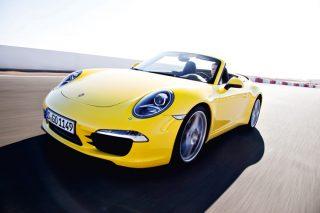 porsche 911 carrera s cabriolet front